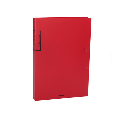 3500 DOUBLE LEVER FILE (RED)