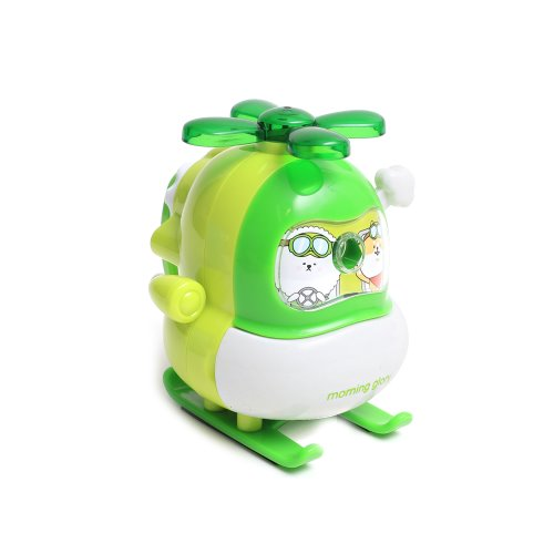 10000 BICHON HELI PENCIL SHARPENER (LIGHT GREEN)