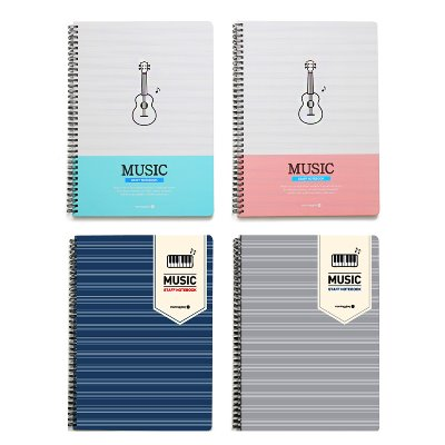 4500 HARD COVER MUSIC SP NOTE (A4)
